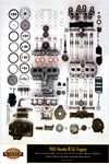 Honda RC161-engine poster
